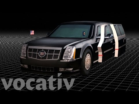 The Presidential Limo Is A True Beast