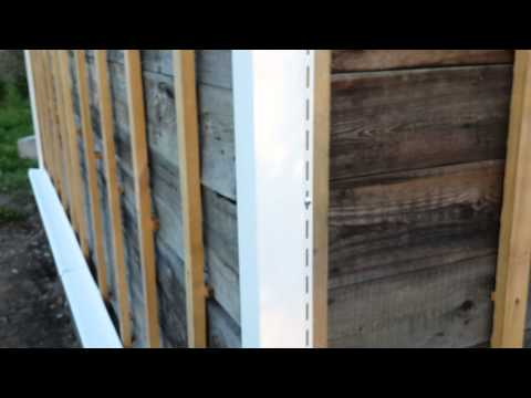 Сайдинг на садовый дом своими руками видео