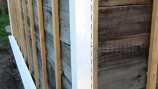 как сделать сайдинг своими руками видео деревянный дом