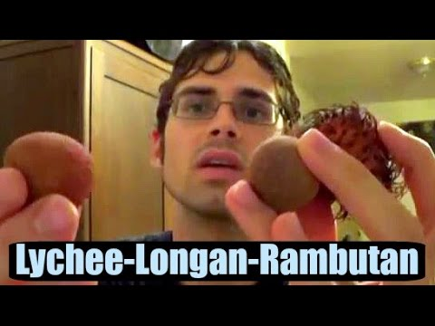 Rambutan, Lychee and Longan Comparison + How to Roast Rambutan seeds - Weird Fruit Explorer Ep. 61