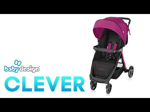 Wzek spacerowy Baby Design Clever