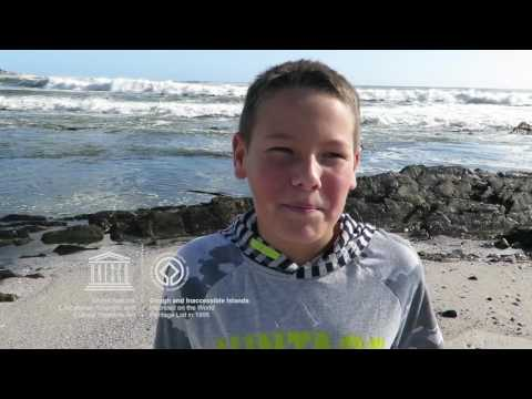 Keiran #MyOceanPledge Gough and Inaccessible Islands World Heritage marine site