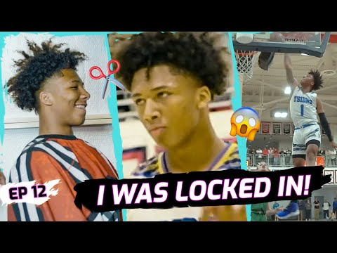 """It Hurt REALLY Bad."" Mikey Williams Gets SECRET Haircut Before TITLE GAME! Battles MEAN D1 Guard 😱"