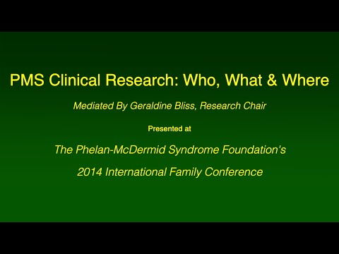 PMS Clinical Research: Who, What & Where