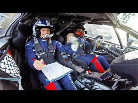 44. Croatia rally 2017   Best onboard moments   Rok Turk - Blanka Kacin (Peugeot 208 T16)