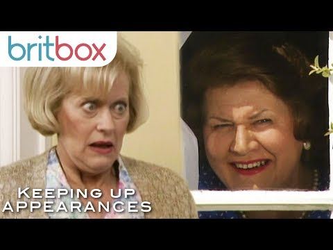 Hyacinth Asks Elizabeth For Her Opinion... Sort Of | Keeping Up Appearances