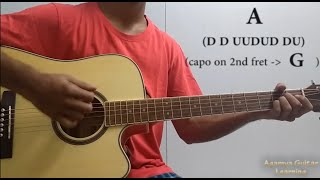 Hasi Ban Gaye - Guitar Chords Lesson+Cover, strumming pattern, progressions