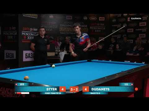 ABNbilliards Dreamchallenge 2019 Day 1 (Matches 1-6) USA vs Russia and ect.