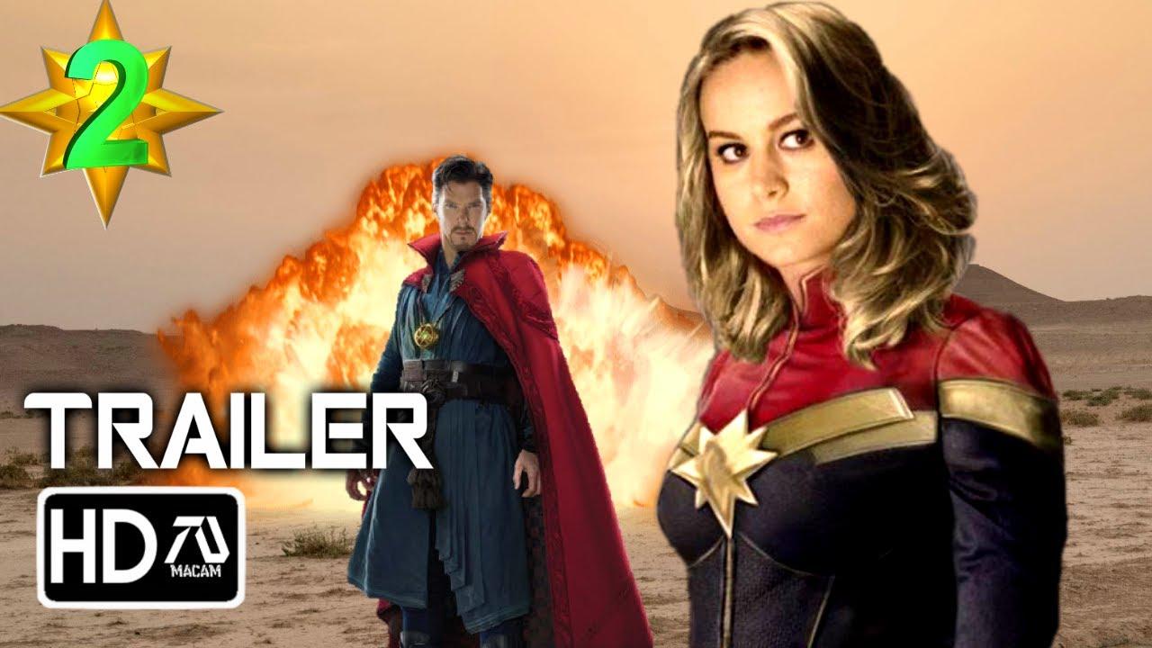 Captain Marvel 20 2002020 [HD] Trailer 20 Brie Larson Fan Made