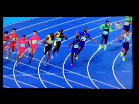 Analysis and Close Up View of 2016 Olympics 4X100 Men's Relay Final