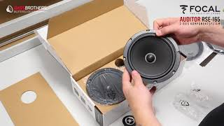 Focal RSE-165 Unboxing