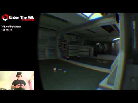 Stream Alien:Isolation debout - Oculus Rift DK2