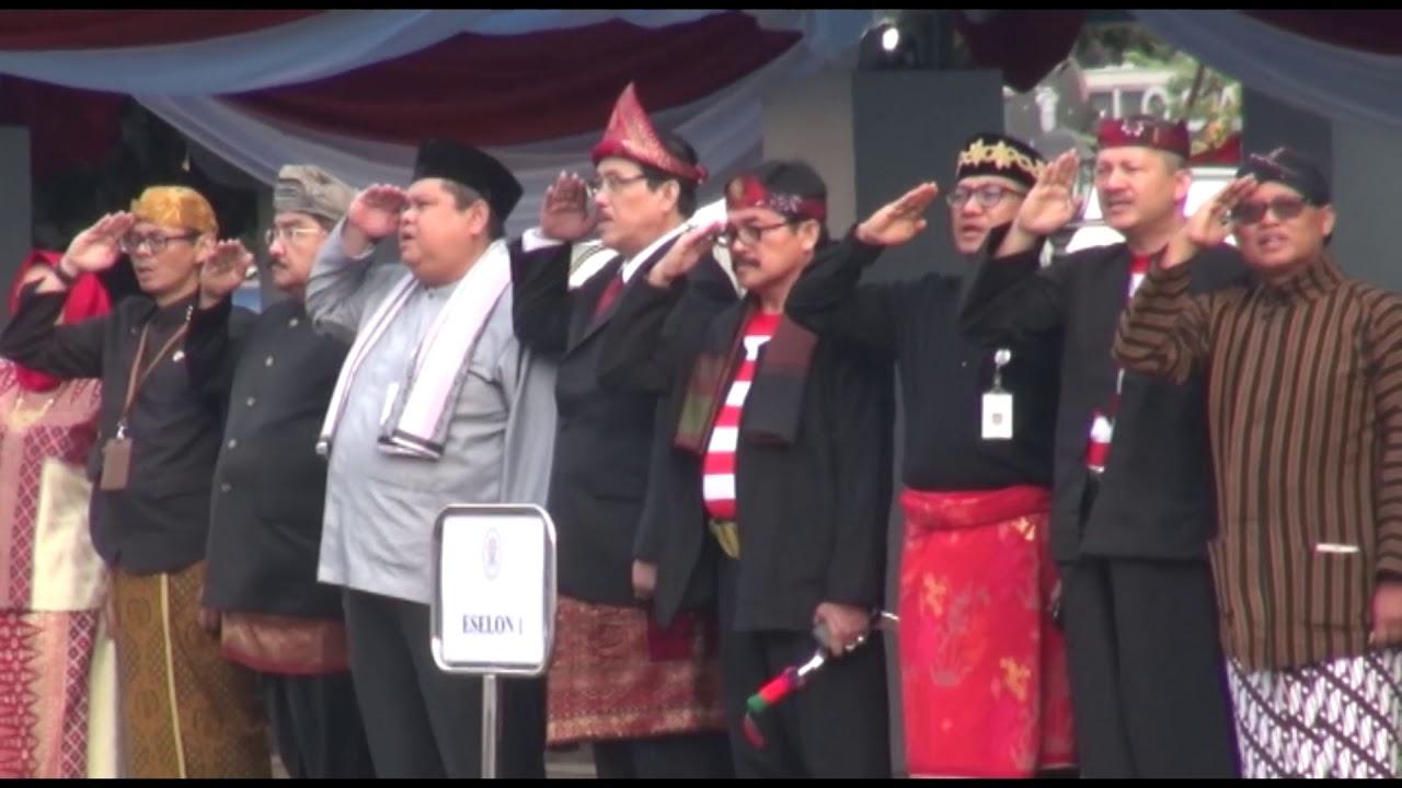 Kementerian PANRB Gelar Upacara HUT RI ke 72