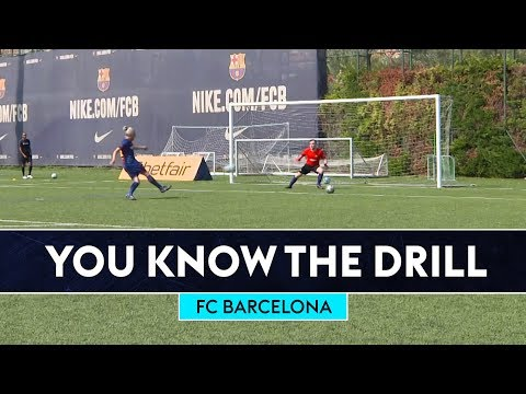 Deco & Rivaldo v Bullard & Fenners  | FC Barcelona | You Know The Drill
