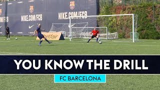 Deco & Rivaldo v Bullard & Fenners  | FC Barcelona | You Know The Drill