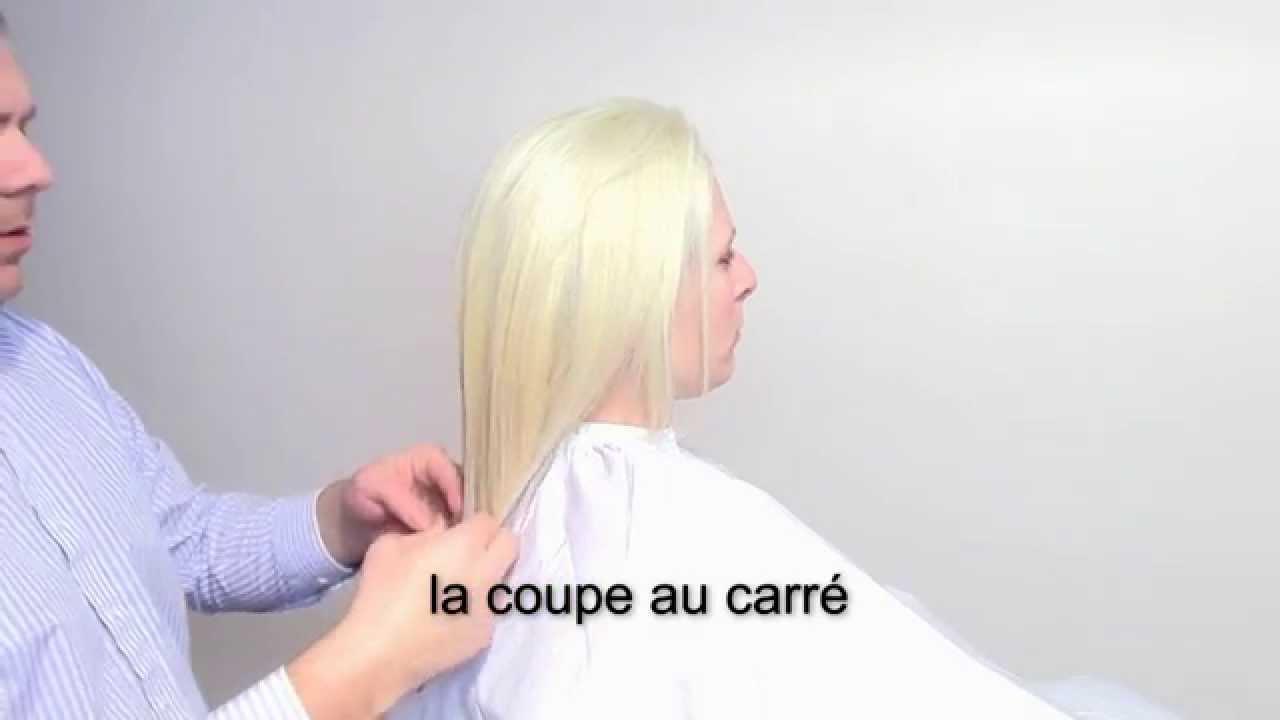 Publicité: 3 coupes de cheveux de base pour femme 2015 - YouTube