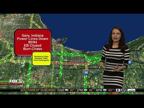 Jenny Milkowski Breaking News Indiana 80/94 (1-10-18)