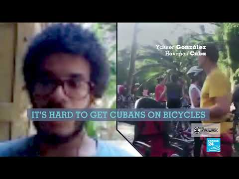 Cyclists pedalling to make bikes cool again in Cuba
