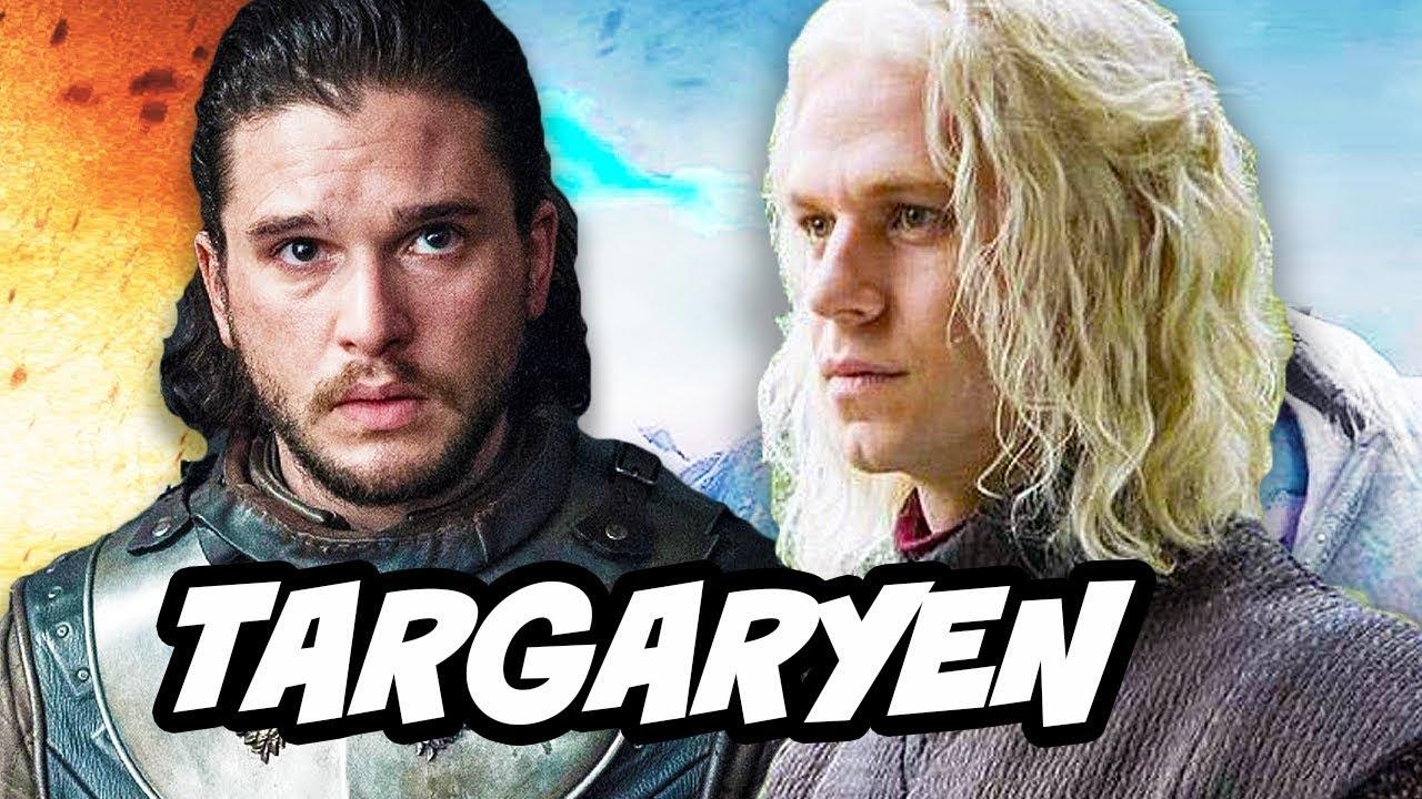 Game Of Thrones Season 7 Jon Snow Aegon Targaryen Explained Youtube