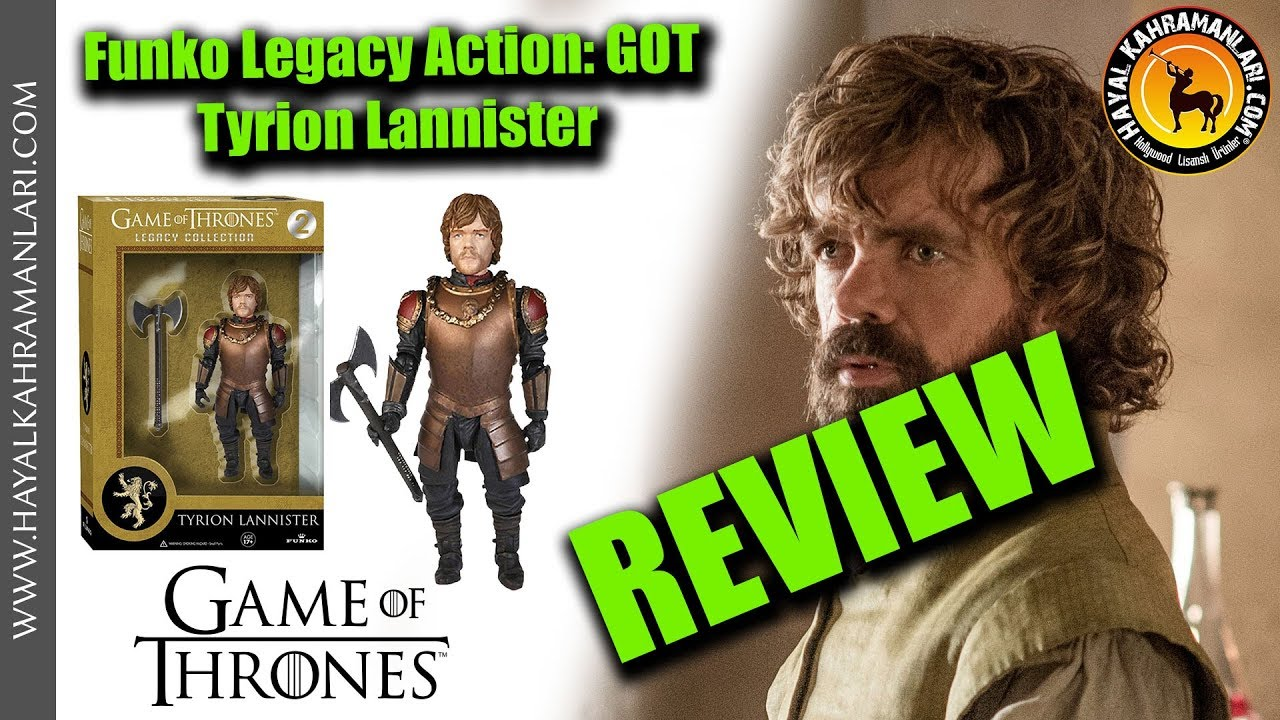 Game of Thrones Tyrion Lannister Legacy Collection Action Figure NEW exclusive