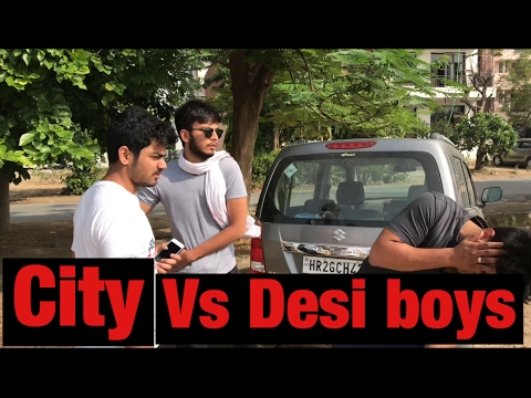 CITY BOYS VS DESI BOYS - vine - Elvish yadav