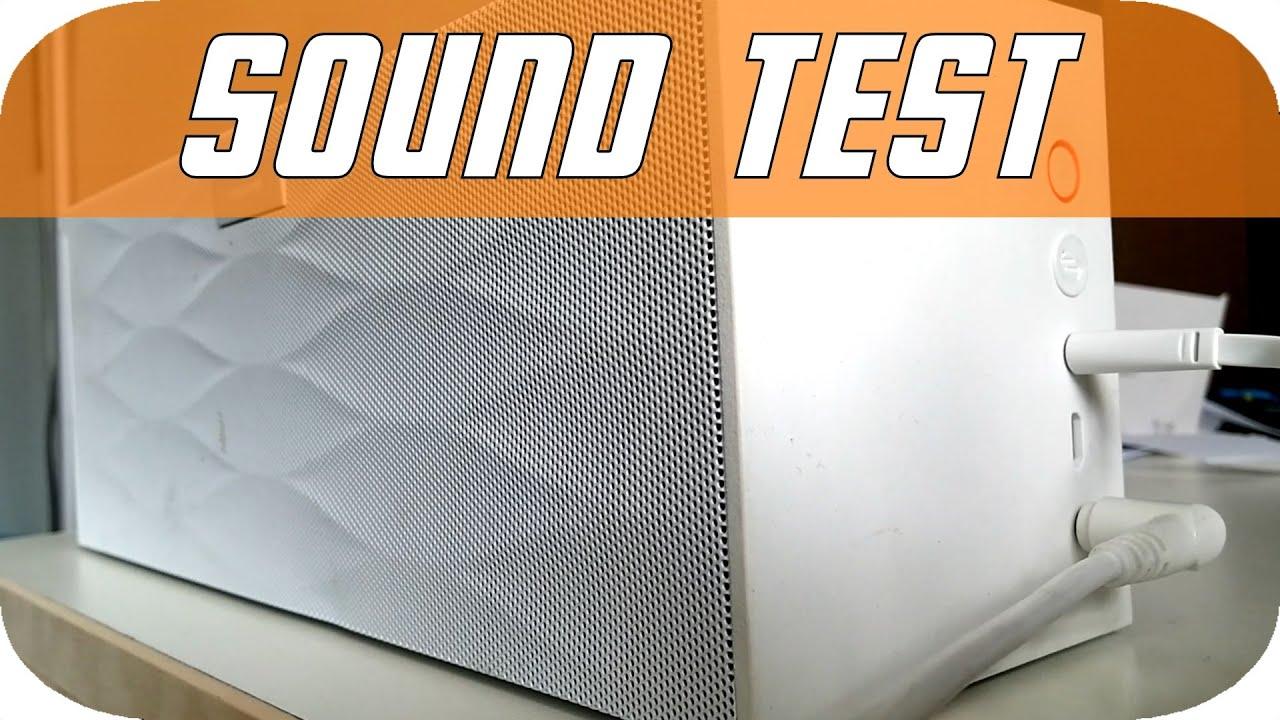 Jawbone Big Jambox Wireless Speaker Sound Quality Test!