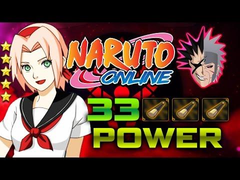 Naruto Online | 2 GOLDEN CUDGELS!!!!!! | 5 Star Sailor Sakura! | 33000 Power!