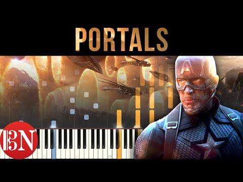 Avengers: Endgame - Portals | Piano Tutorial / Sheet Music / MIDI thumbnail