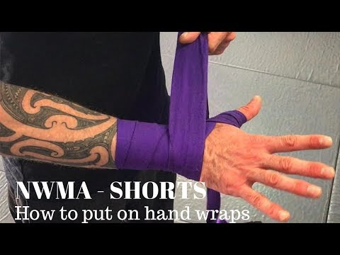 NWMA SHORTS - Hand Wrapping For Boxing, Muay Thai And Kick Boxing