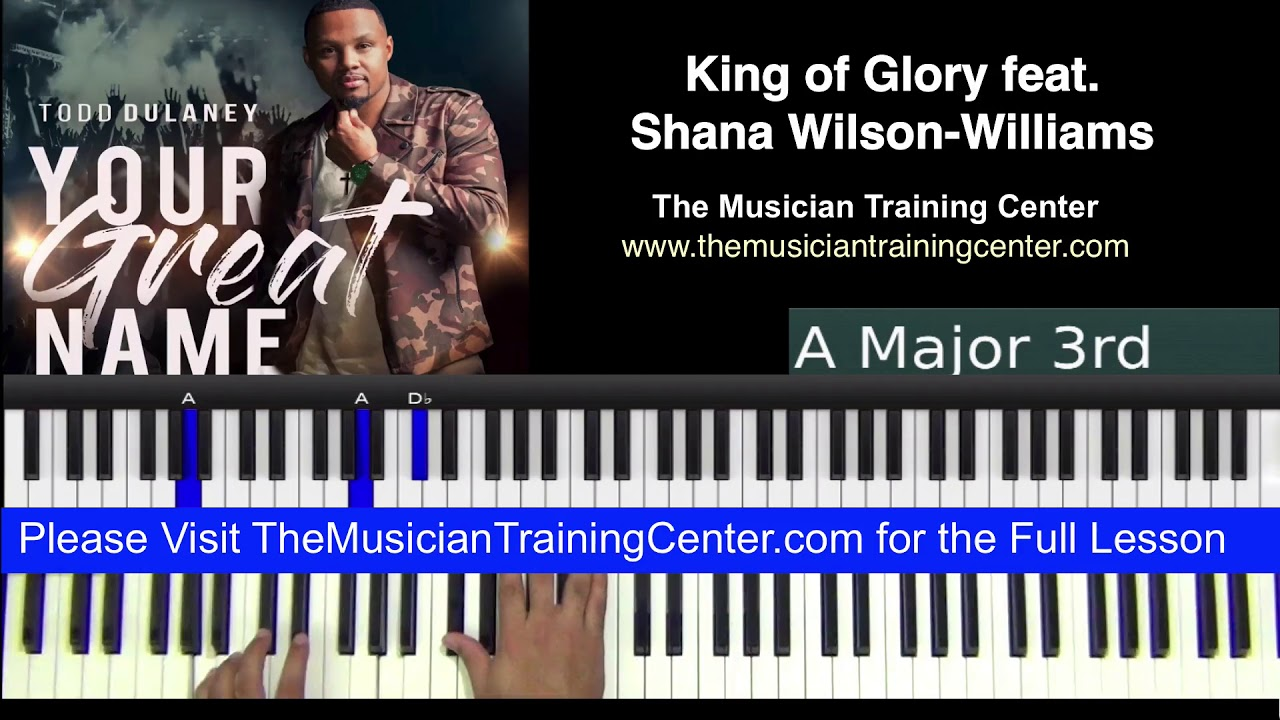 Of glory chords king King of
