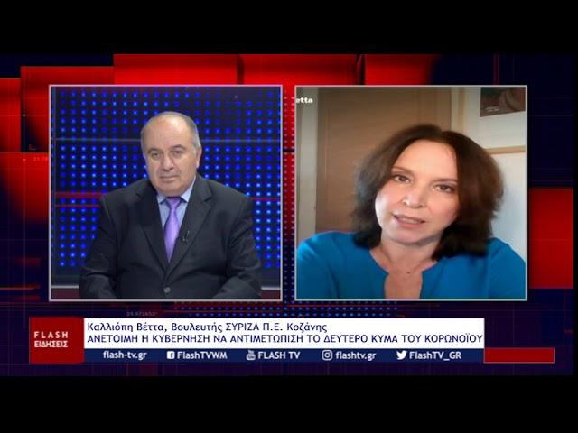 """""""Ανέτοιμη η κυβέρνηση να αντιμετωπίσει το δεύτερο κύμα του κορονοϊού"""" (video)"""