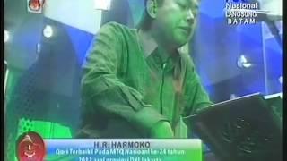 H.R Harmoko Qori Terbaik 1 MTQ Nasional 24 Tahun 2012