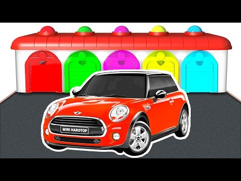 Thumbnail: Learn Color Car and Truck - Cars for Kids w Colors for Children - Educational Learning Video