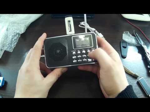 Лучшее радио на AliExpress за 10$, карманное радио Т-505 на аккумуляторе