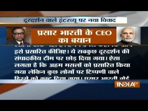 Everything was left on DD editorial team: Prasar Bharti CEO