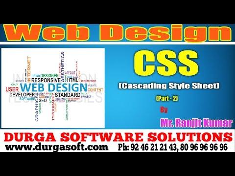 Web Design | CSS (Cascading Style Sheet) Part - 2 by Rajith Kumar