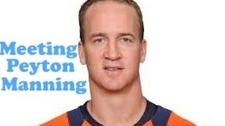 NFL QB PEYTON MANNING & MORE!!! - March 1, 2013 - usaaffamily vlog