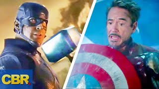 10 Times The Avengers Swapped Weapons