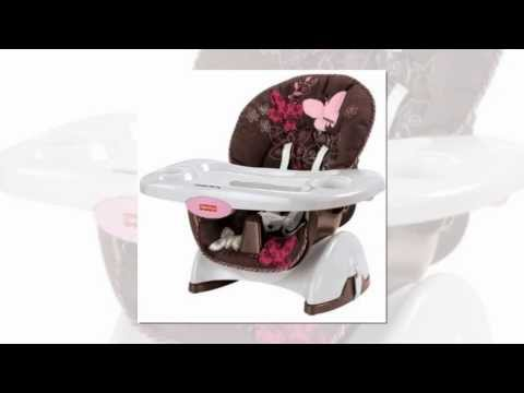 Space Saver High Chair, Mocha Butterfly by Fisher Price   Review