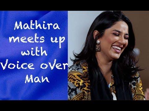 Mathira meets up