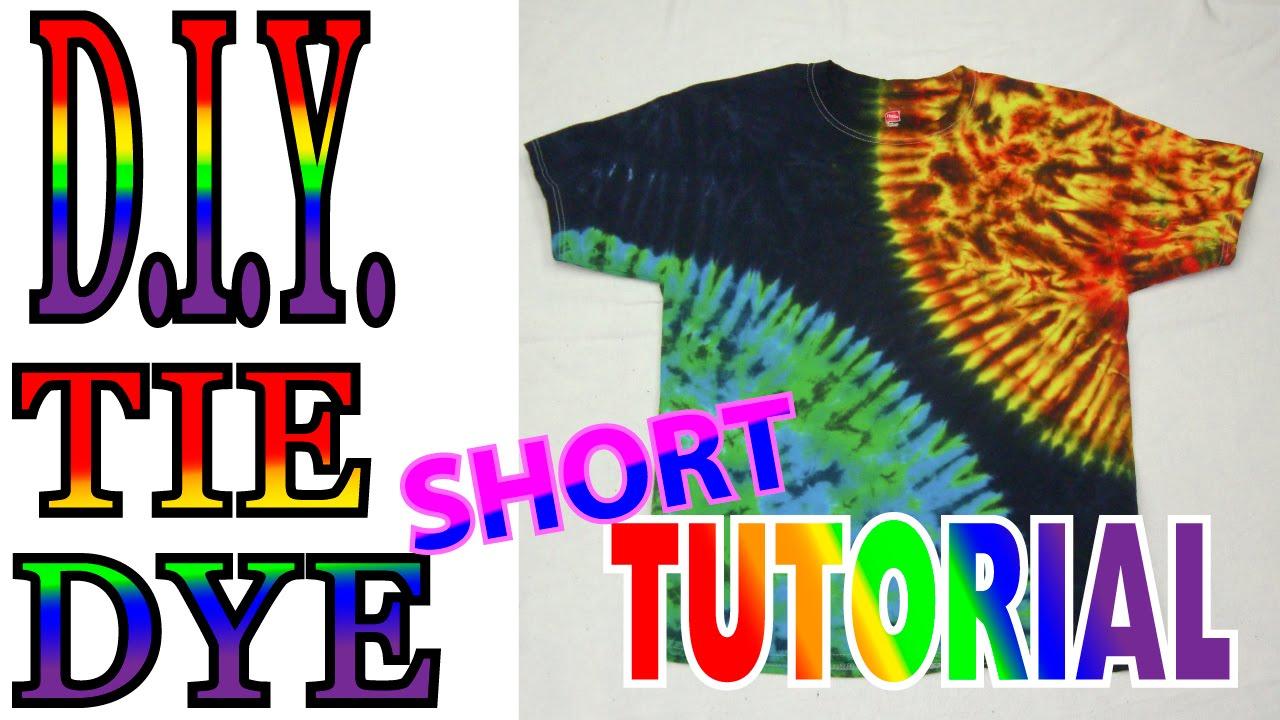 Tie dye techniques lessons tes teach diy sun and earth tie dye shirt short tutorial 53 baditri Gallery