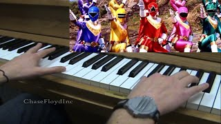 ϟ Power Rangers Zeo Theme Song Piano Cover ϟ