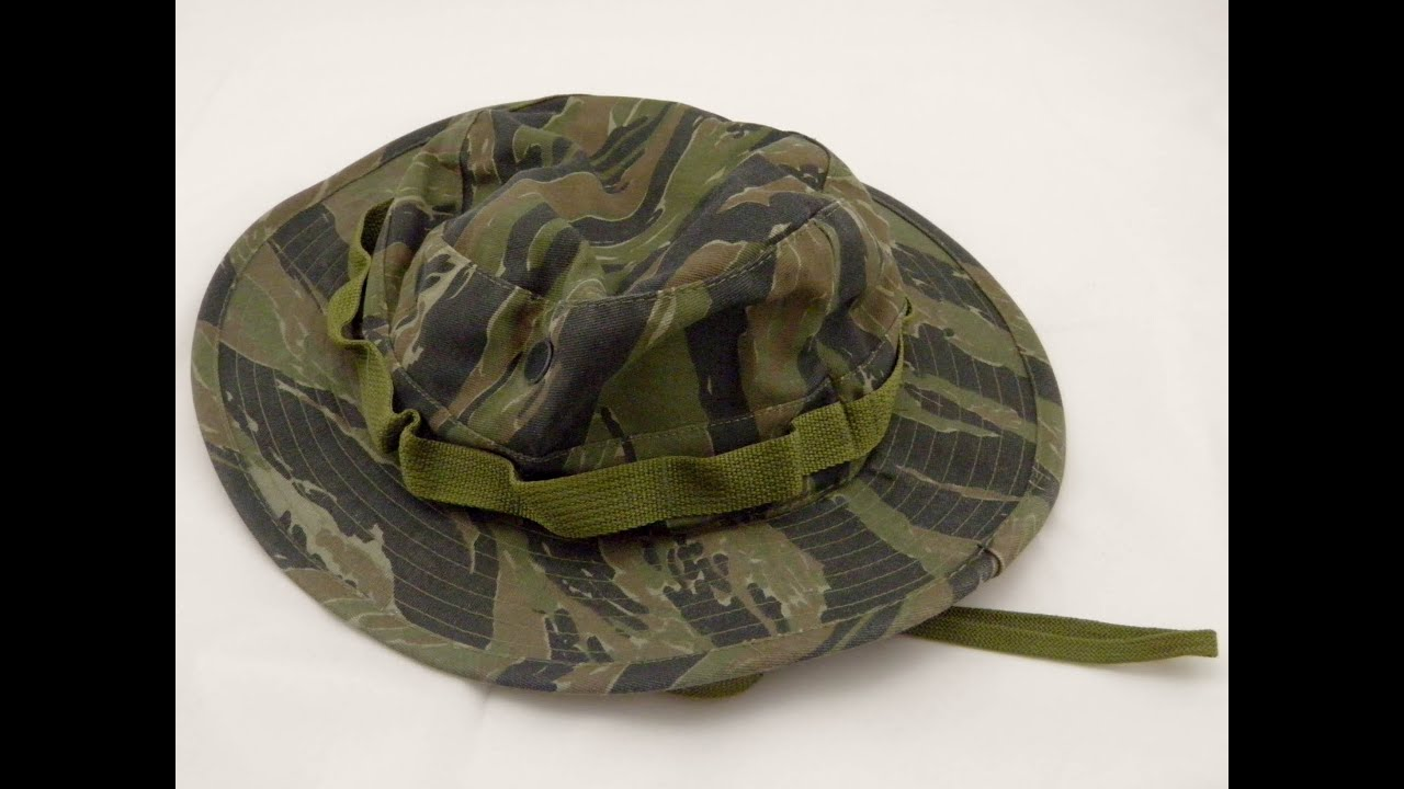 vietnam tiger ERA jungle boonie bush hat hats war us army FORCES COLORS  PATTERN 40b37bca2df