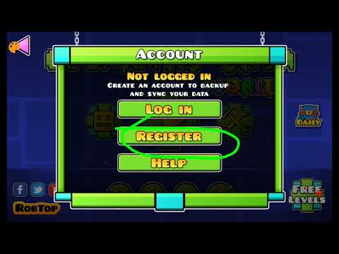 How To Make A Geometry Dash Account - Geometry Dash