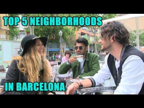 SuiteLife's 5 best neighborhoods in barcelona