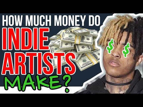 How Much Money Do Independent Artists Make???