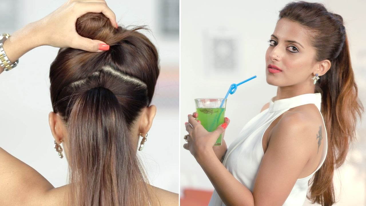 Ponytail Trick: Make Your Hair Appear Longer - Hairstyle Tips And ...