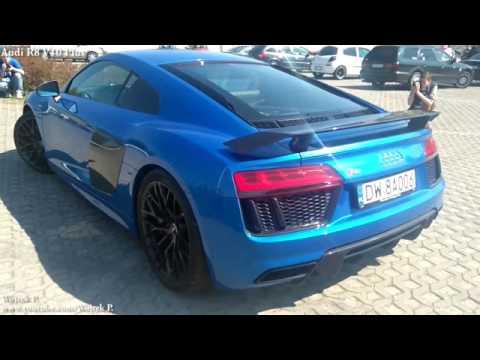 Audi RS7 700HP VS Audi R8 Plus v10 - YouTube