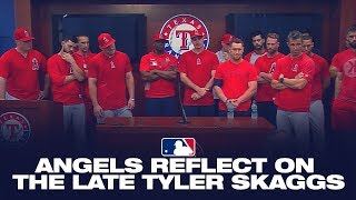 Angels reflect on the late Tyler Skaggs
