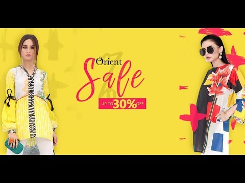 Orient Textiles Winter SALE Upto 30% off